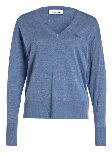 LACOSTE Pullover, Farbe: BLAU MELIERT (Bild 1)