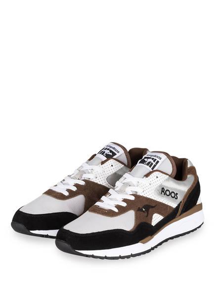 KangaROOS Sneaker RUNAWAY, Farbe: WEISS/ BRAUN/ SCHWARZ (Bild 1)