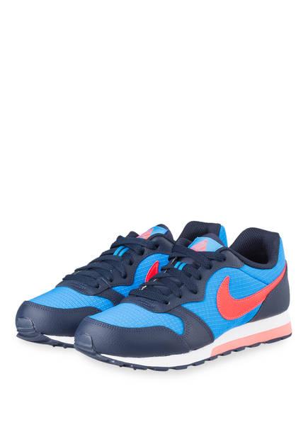 Nike Sneaker MD RUNNER 2 GS, Farbe: BLAU/ ROT (Bild 1)