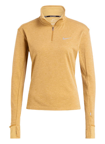 Nike Laufshirt THERMA SPHERE 2.0, Farbe: GOLD (Bild 1)