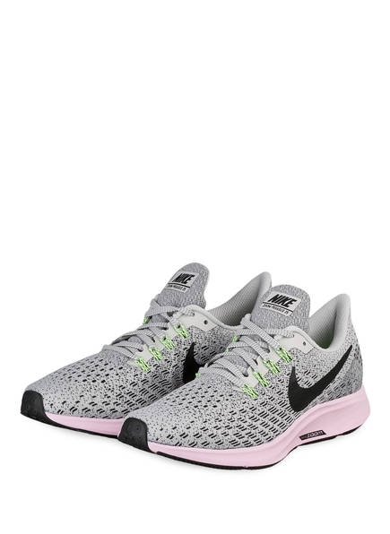 Nike Laufschuhe AIR ZOOM PEGASUS 35, Farbe: HELLGRAU/ HELLROSA (Bild 1)
