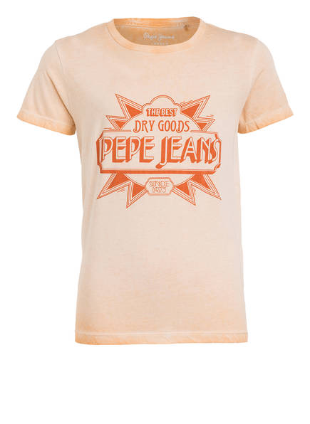 Pepe Jeans T-Shirt, Farbe: HELLORANGE (Bild 1)