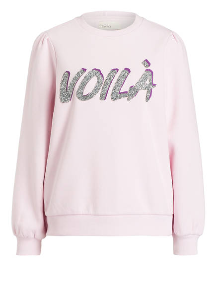 Levete Room Sweatshirt VOILA, Farbe: HELLLILA (Bild 1)