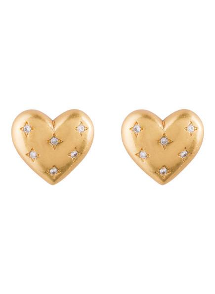 kate spade new york Ohrstecker HEART , Farbe: GOLD (Bild 1)