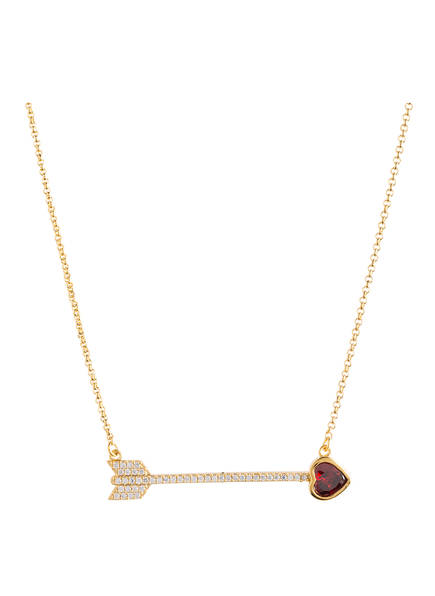 kate spade new york Kette ROMANTIC ROCKS, Farbe: GOLD/ ROT (Bild 1)
