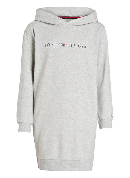 TOMMY HILFIGER Hoodie-Kleid, Farbe: HELLGRAU MELIERT (Bild 1)