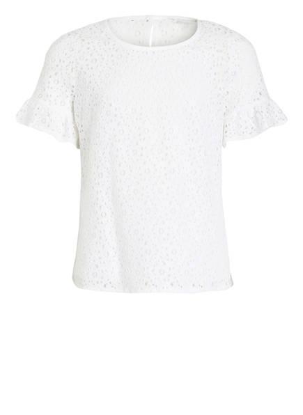 TOMMY HILFIGER 2-in-1 Blusenshirt, Farbe: WEISS (Bild 1)