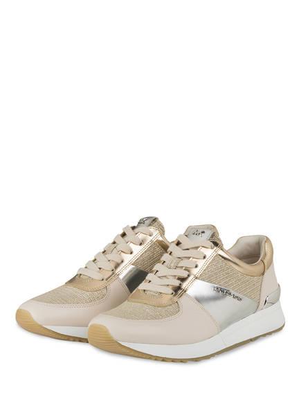 MICHAEL KORS Sneaker ALLIE, Farbe: WEISS/ GOLD/ SILBER (Bild 1)
