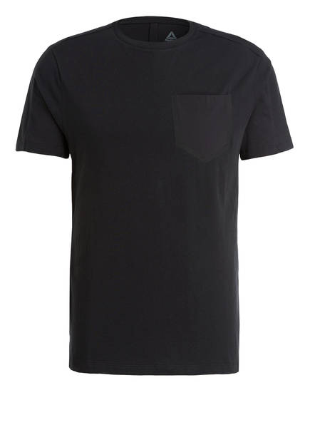 Reebok T-Shirt TRAINING SUPPLY MOVE, Farbe: SCHWARZ (Bild 1)