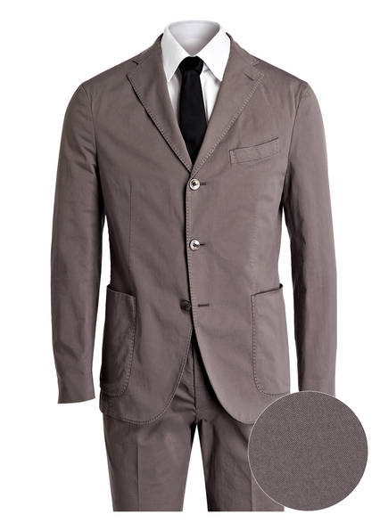 BOGLIOLI Anzug Slim Fit, Farbe: 845 GRAU (Bild 1)