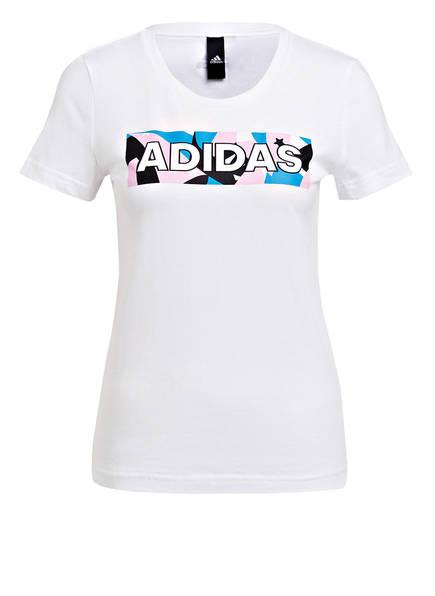 adidas T-Shirt PACK II, Farbe: WEISS (Bild 1)
