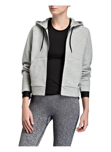 Grau Meliert Sweatjacke Adidas Haves Must zw0q8nC
