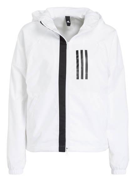 adidas Trainingsjacke WND, Farbe: WEISS (Bild 1)