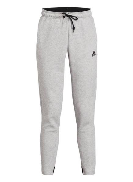 adidas Sweatpants MUST HAVES ATHLETICS, Farbe: HELLGRAU MELIERT (Bild 1)