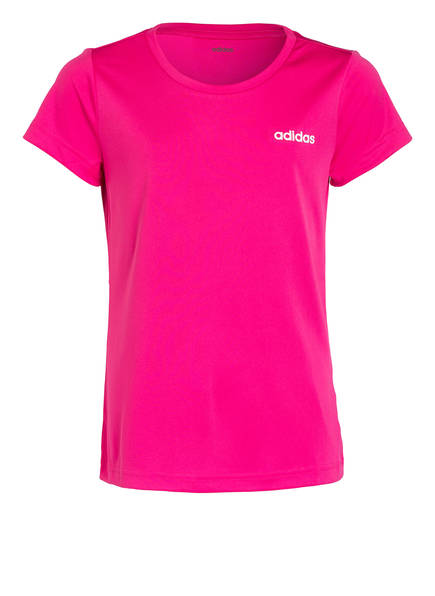 adidas T-Shirt LINEAR, Farbe: PINK (Bild 1)