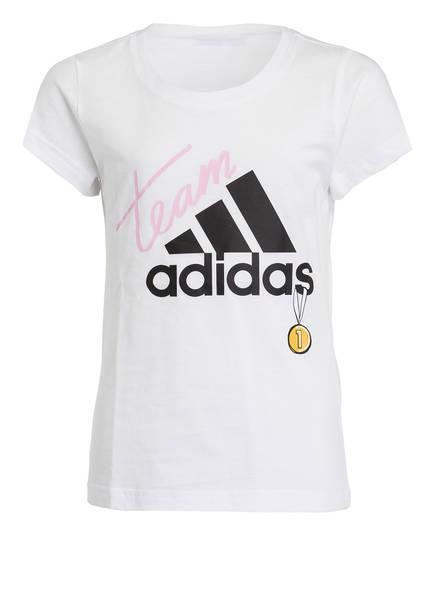adidas T-Shirt ID, Farbe: WEISS (Bild 1)