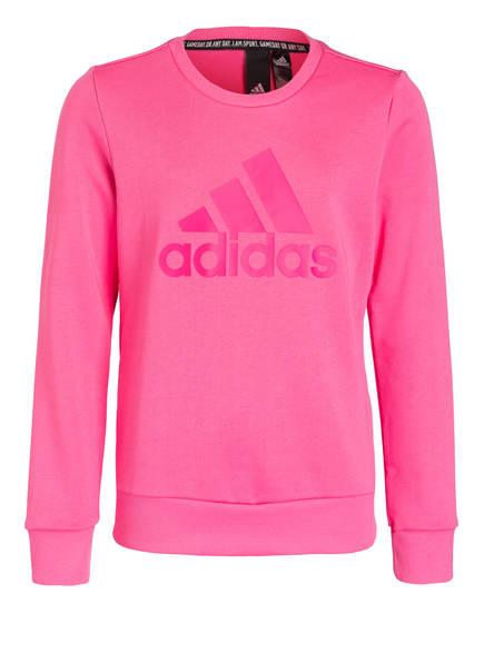 adidas Sweatshirt BADGE OF SPORTS, Farbe: PINK (Bild 1)