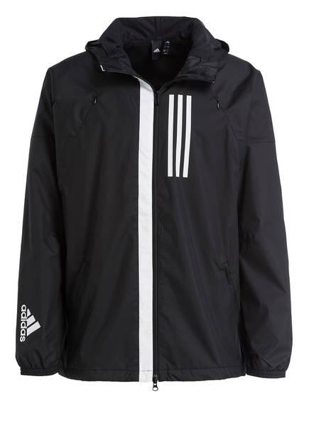 adidas Trainingsjacke ID FLEECE-LINED WND, Farbe: SCHWARZ (Bild 1)