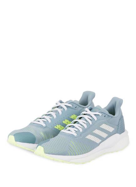 adidas Laufschuhe SOLARDRIVE ST, Farbe: HELLBLAU/ LIME (Bild 1)