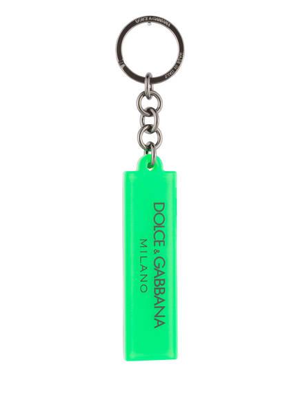 DOLCE&GABBANA Schlüsselanhänger, Farbe: GRÜN (Bild 1)