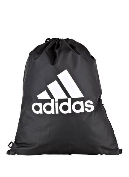 adidas Trainingsbeutel TREFOIL , Farbe: SCHWARZ (Bild 1)