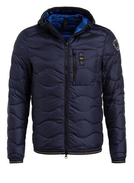 Blauer Lightweight-Daunenjacke, Farbe: NAVY (Bild 1)