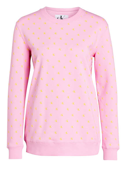 Calvin Klein Jeans Sweatshirt , Farbe: ROSA (Bild 1)
