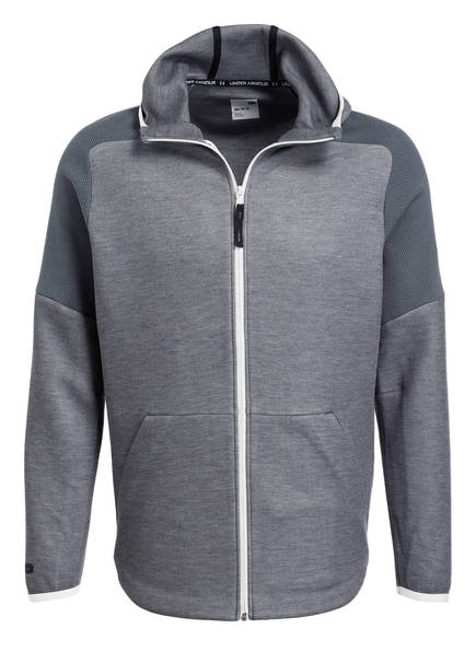 UNDER ARMOUR Hoodie UNSTOPPABLE MOVE LIGHT, Farbe: GRAU MELIERT (Bild 1)
