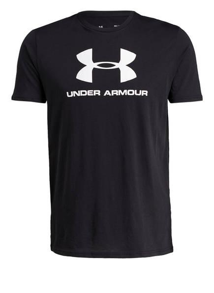 UNDER ARMOUR T-Shirt SPORTSTYLE, Farbe: SCHWARZ (Bild 1)