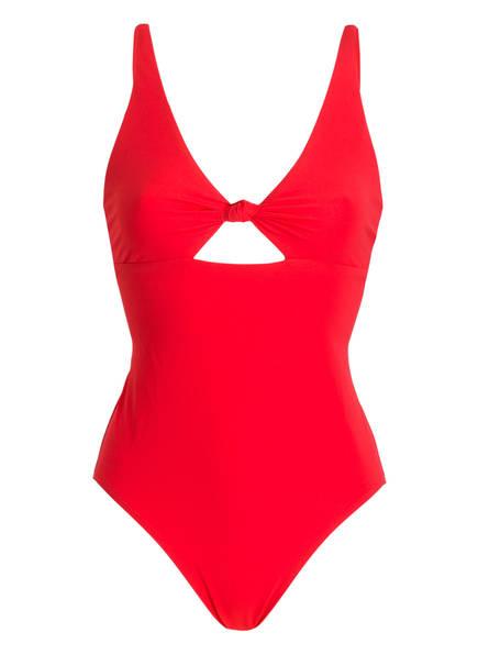TORY BURCH Badeanzug, Farbe: ROT (Bild 1)