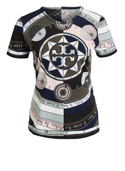 TORY BURCH T-Shirt, Farbe: NAVY/ KHAKI/ ROSE (Bild 1)