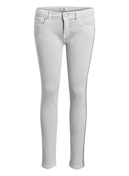 CKS Kids Jeans GRETCHEN mit Schmucksteinbesatz, Farbe: LIGHT GREY  (Bild 1)