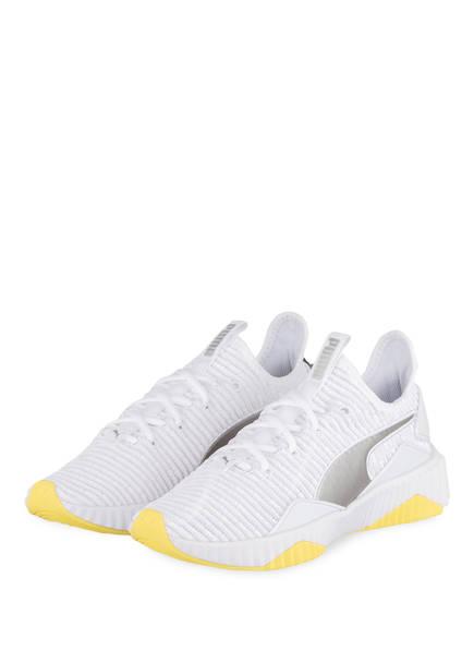 PUMA Sneaker DEFY TRAILBLAZER, Farbe: WEISS/ GELB (Bild 1)