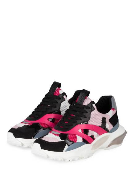 VALENTINO GARAVANI Sneaker BOUNCE, Farbe: GRAU/ SCHWARZ/ PINK (Bild 1)
