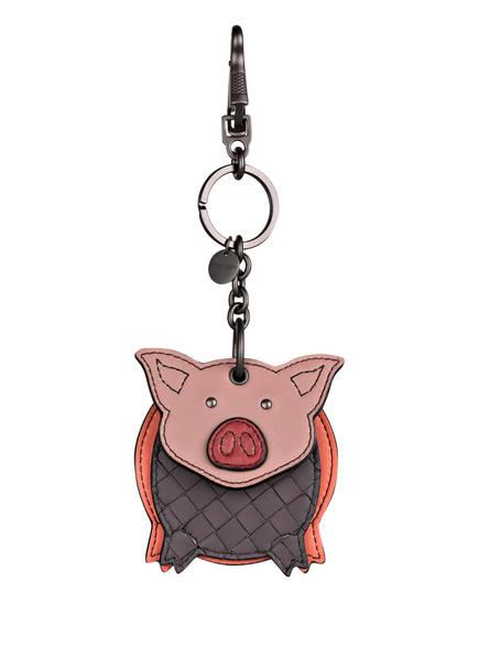 BOTTEGA VENETA Schlüssel- und Taschenanhänger , Farbe: BACCARA ROSE/ DECO ROSE (Bild 1)