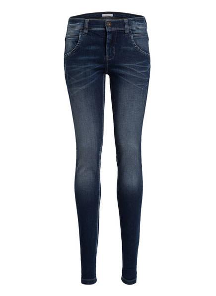 name it Skinny-Jeans, Farbe: DARK BLUE DENIM (Bild 1)