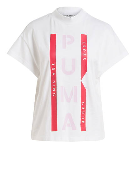 PUMA T-Shirt XTG GRAPHIC, Farbe: WEISS/ ROT (Bild 1)