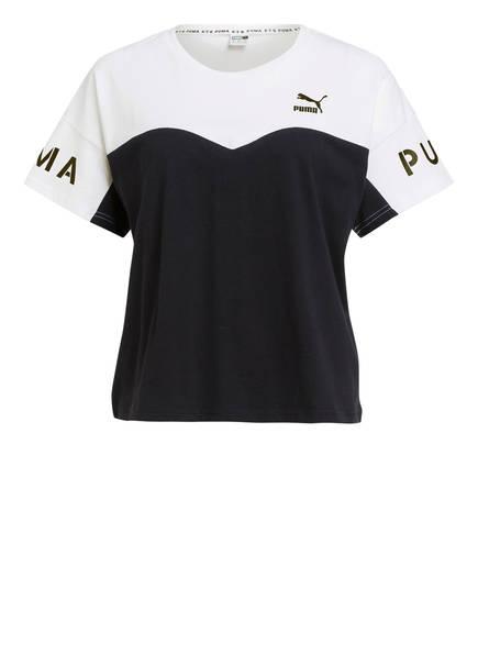 PUMA T-Shirt XTG, Farbe: SCHWARZ/ WEISS (Bild 1)