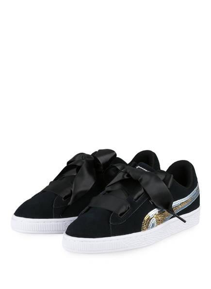 PUMA Sneaker SUEDE HRT TRAILBLAZER, Farbe: SCHWARZ (Bild 1)