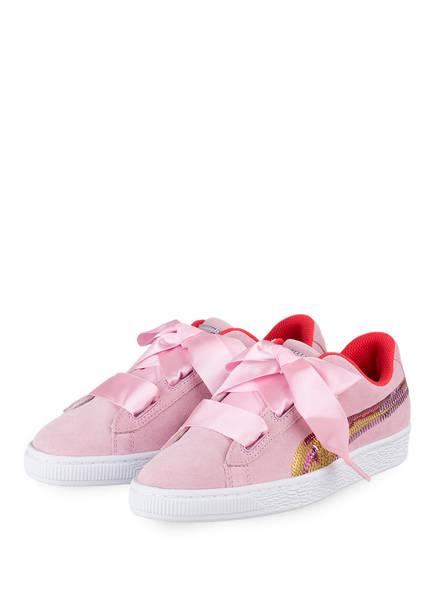 PUMA Sneaker SUEDE HRT TRAILBLAZER, Farbe: HELLROSA (Bild 1)