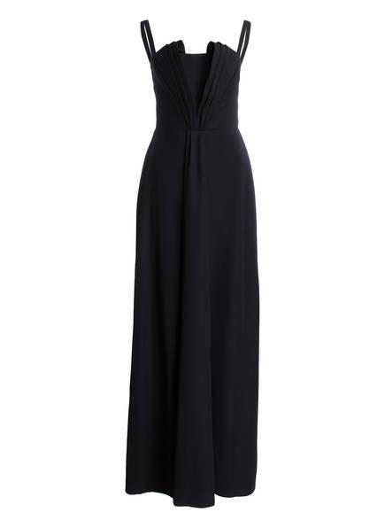 EMPORIO ARMANI Kleid mit Faltenaufsatz, Farbe: SCHWARZ (Bild 1)