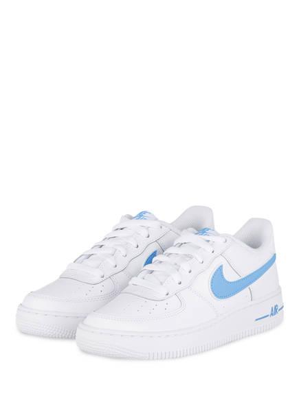 Nike Sneaker AIR FORCE 1-3 GRADE SCHOOL, Farbe: WEISS (Bild 1)