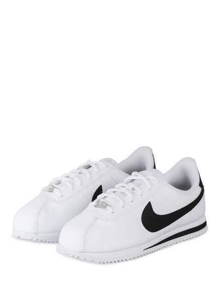Nike Sneaker CORTEZ BASIC, Farbe: WEISS/ SCHWARZ (Bild 1)
