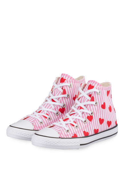 CONVERSE Sneaker CHUCK TAYLOR ALL STAR , Farbe: PINK/ ROT/ WEISS (Bild 1)