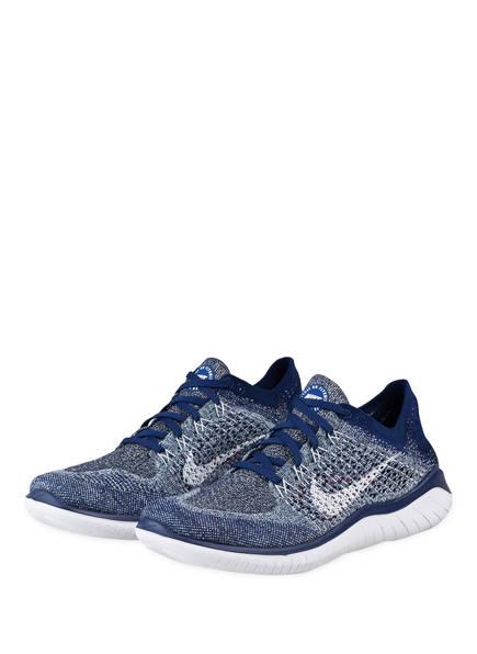 Nike Laufschuhe FREE RN FLYKNIT 2018, Farbe: BLAU (Bild 1)