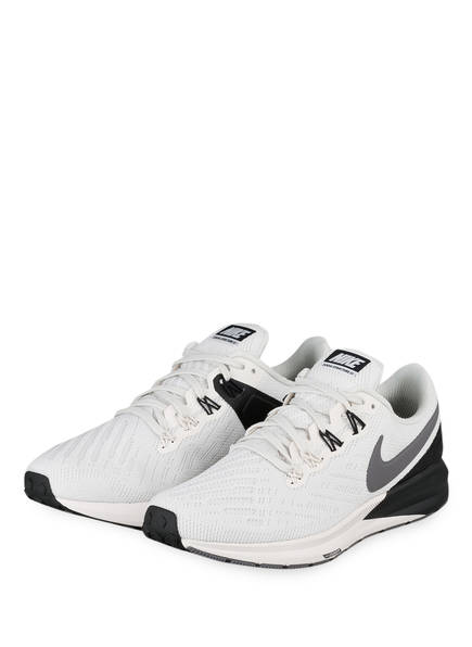 Nike Laufschuhe AIR ZOOM STRUCTURE 22, Farbe: ECRU/ GRAU (Bild 1)