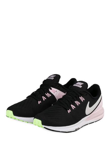 Nike Laufschuhe AIR ZOOM STRUCTURE 22, Farbe: SCHWARZ/ ROSÉ (Bild 1)