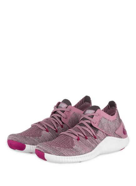 Nike Fitnessschuhe TR FLYKNIT 3, Farbe: ROSÉ/ GRAU (Bild 1)
