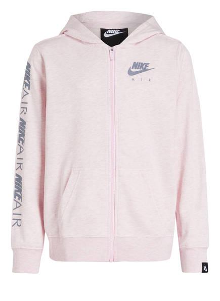 Nike Sweatjacke AIR, Farbe: ROSA MELIERT (Bild 1)