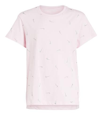 Nike T-Shirt SWOOSHFETTI, Farbe: ROSA (Bild 1)